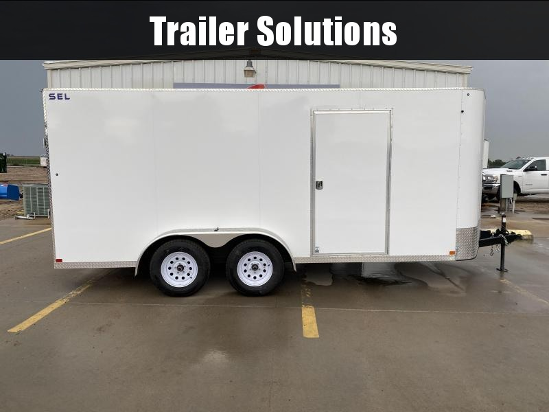 2021 Sharp SEL 7X16  Enclosed Trailer