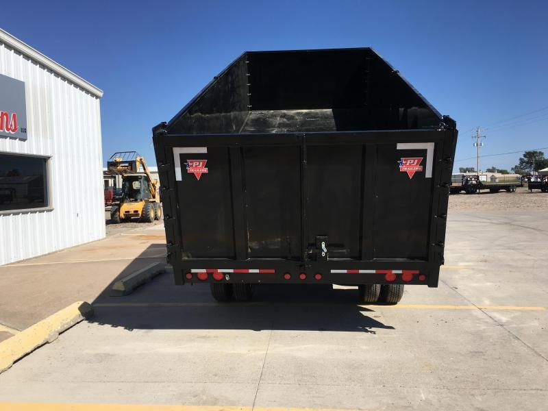 "2021 PJ 20' x 102"" Tandem Dual Dump Trailer"