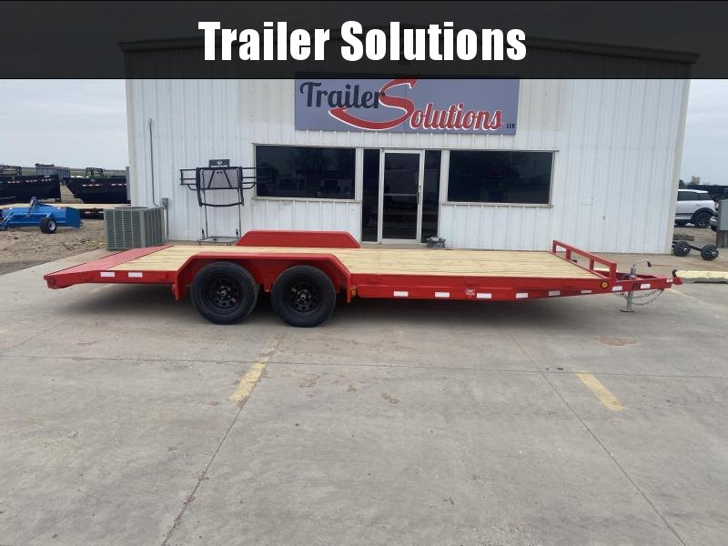 "2021 PJ 22' x 83"" 5"" Channel Carhauler Trailer"