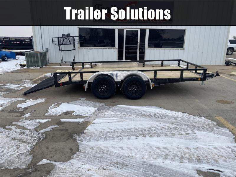 "2021 PJ 14' x 83"" Tandem Axle Channel Utility Trailer"