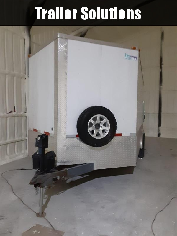 2015 16' x 8.5' Enclosed + Foam Insulation Machine
