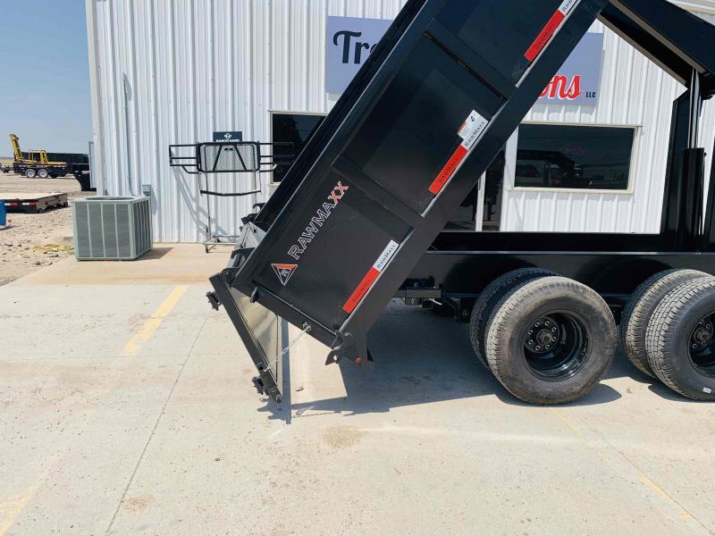 2022 RawMaxx Dump Dump Trailer