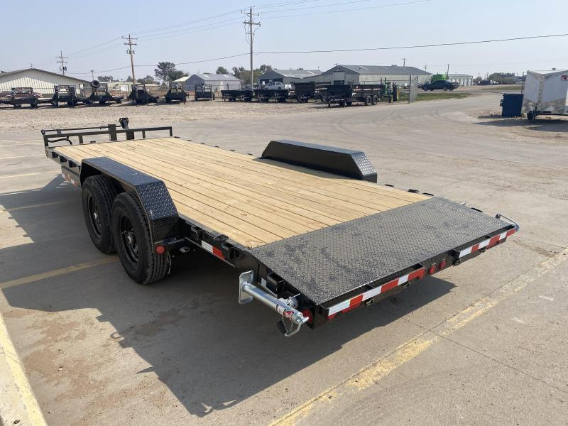 "2021 PJ 20' x 6"" Channel Equipment Trailer"