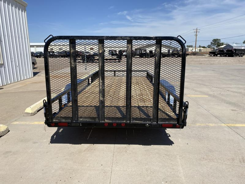 "2021 PJ 18' x 83"" Tandem Axle Channel Utility Trailer"
