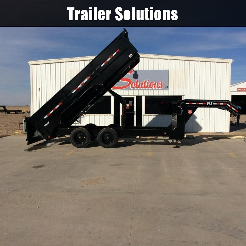 "2021 PJ 16' x 83"" HD Low Pro Dump Trailer"