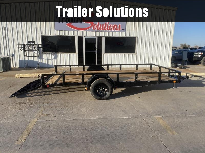 "2021 PJ 14' x 83"" Single Axle Channel Utility Trailers"