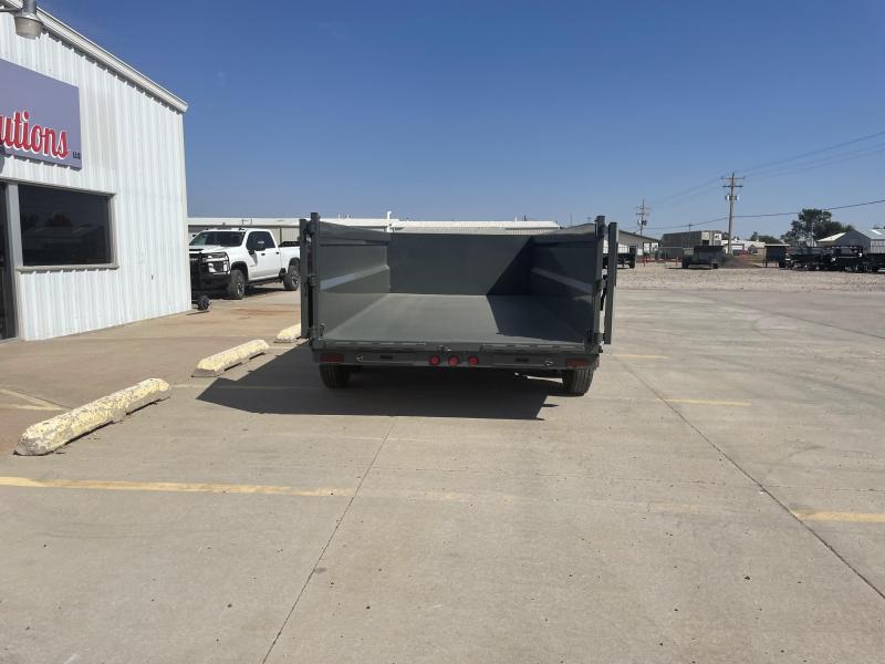"2022 Buckshot 16' X 83""  Dump Trailer (36"" High Sides)"