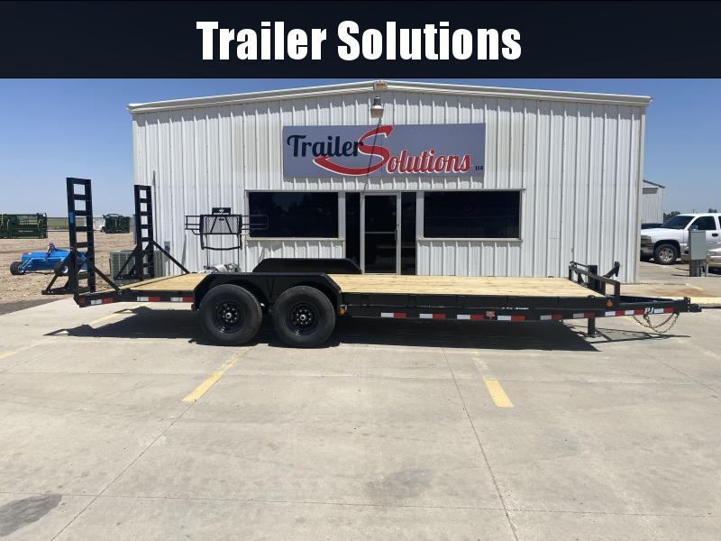 "2021 PJ 22' x 6"" Channel Carhauler Trailer"