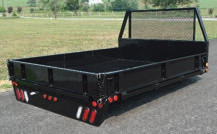 2021 SH Truck Bodies ALL-PURPOSE PLATFORM PICKUP BODIES Platform Bodies