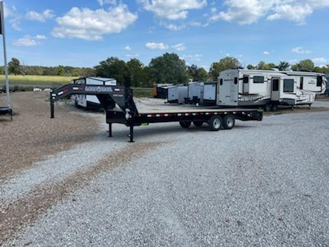 2022 Load Trail 102X25 LOAD TRAIL DECKOVER Equipment Trailer