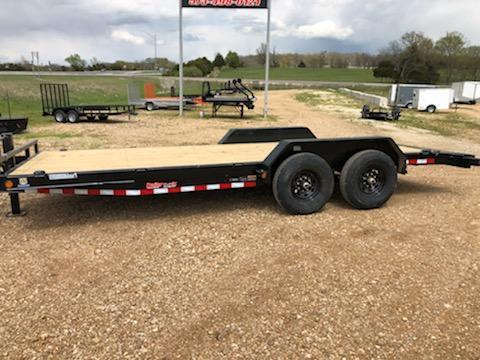 2021 Load Trail 83x20 CAR HAULER Flatbed Trailer