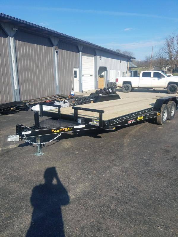 2021 Doolittle Trailer Mfg 84X20 DOOLITTL XTREME Flatbed Trailer