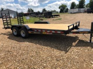 2021 Doolittle Trailer Mfg 84X18 Flatbed Trailer