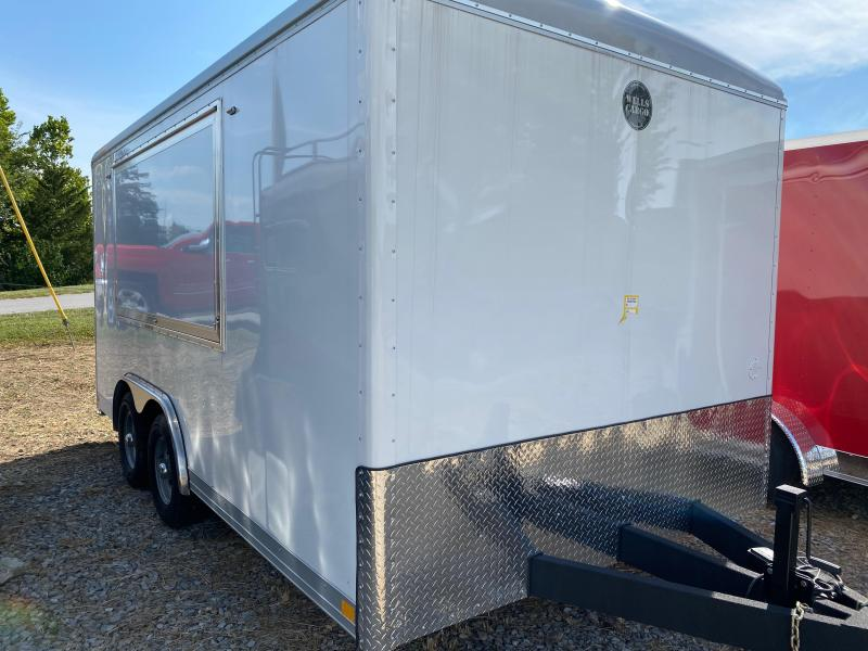 2020 Wells Cargo 8.5x16 Concession Enclosed Cargo Trailer
