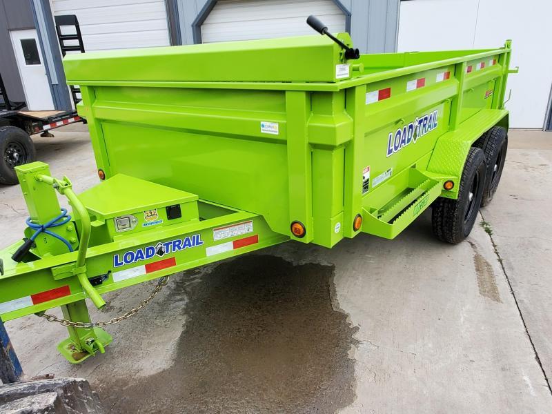 83x12 load trail Dump Trailer