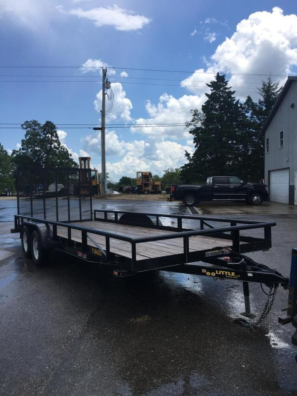 2017 Doolittle Trailer Mfg 84X20 DOOLITTLE Utility Trailer