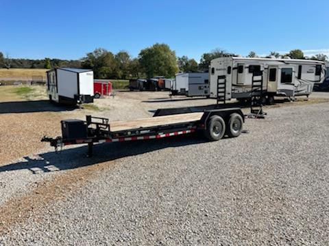 2017 Load Trail 83x20 LOAD TRAIL CARHAULER Flatbed Trailer