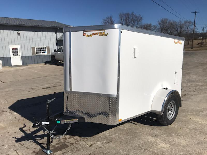 2021 Doolittle Trailer Mfg 5X8 DOOLITTLE Enclosed Cargo Trailer