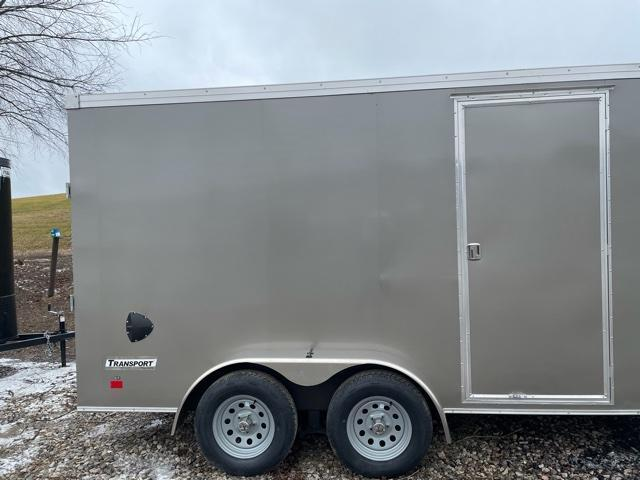 2021 Haulmark 7x14 Transport Enclosed Cargo Trailer