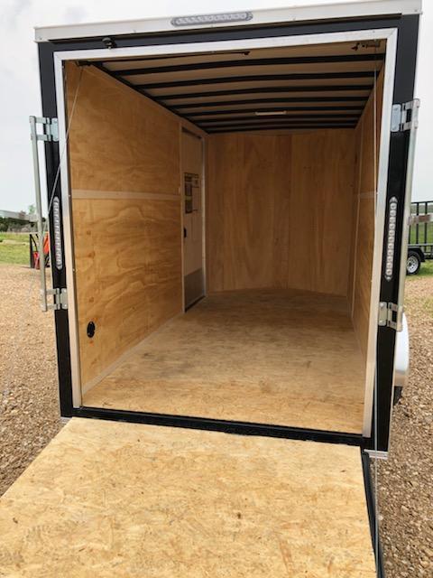 2021 Doolittle Trailer Mfg 6x12 Enclosed Cargo Trailer