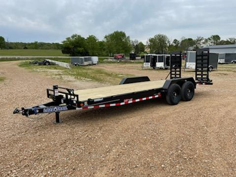 2021 Load Trail 83x22 LOAD TRAIL CARHAULER Flatbed Trailer
