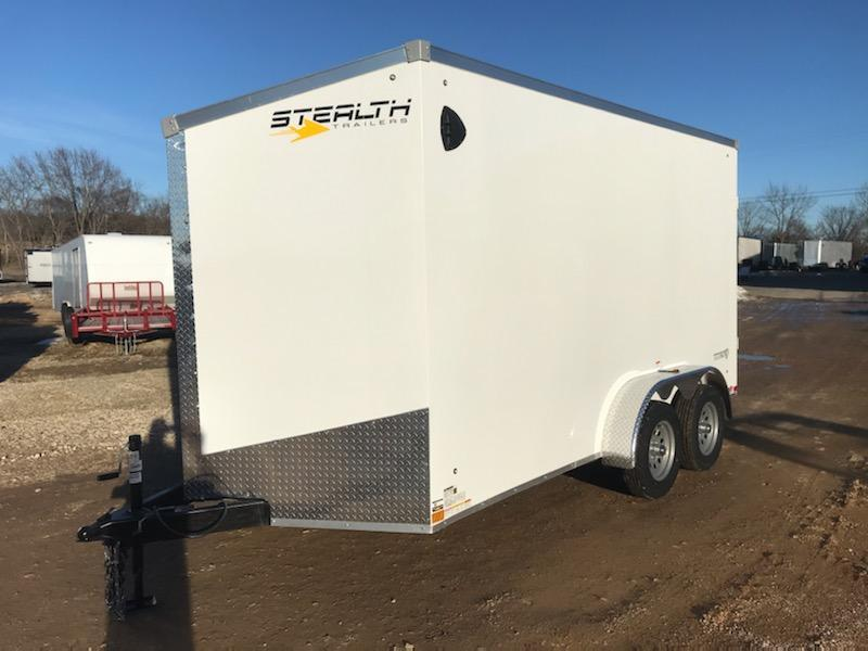 2021 Stealth Trailers 7X14 STEALTH TITAN Enclosed Cargo Trailer