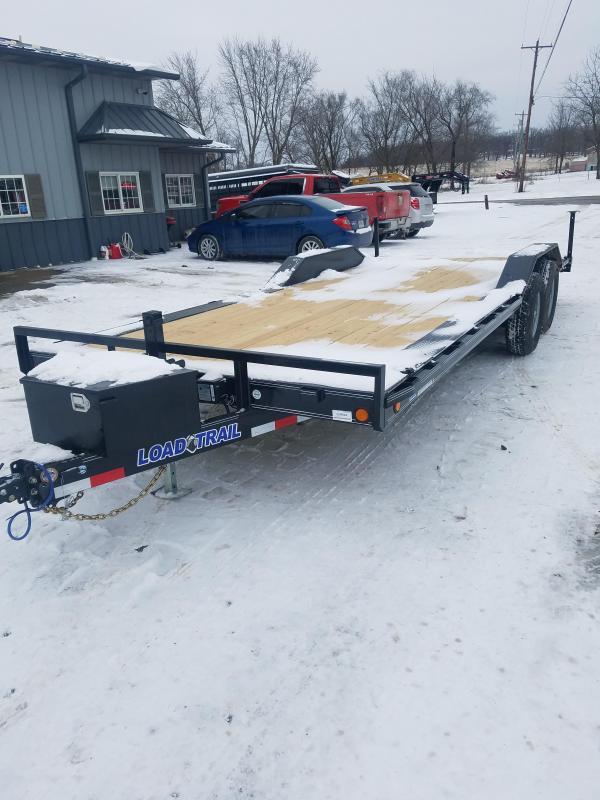 2021 Load Trail 102X22 LOAD TRAIL CARHAULER Flatbed Trailer