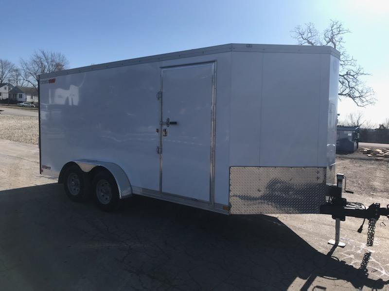 2021 Wells Cargo 7X16 WELLS CARGO Enclosed Cargo Trailer
