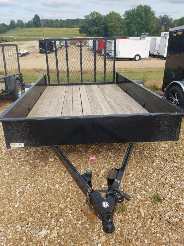 2016 H and H Trailer 76X12 H&H Utility Trailer