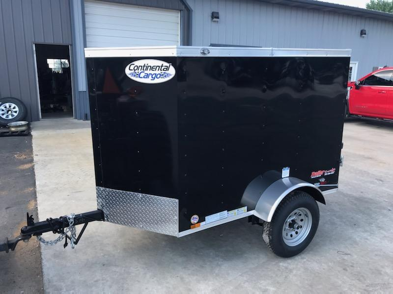 2021 Continental Cargo 4X6 CONTINENTAL CARGO Enclosed Cargo Trailer