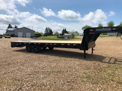 2021 Load Trail 102X25 LOAD TRAIL DECKOVER Equipment Trailer