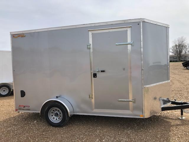 2021 Doolittle Trailer Mfg 7x12 DOOLITTLE CARGO Enclosed Cargo Trailer