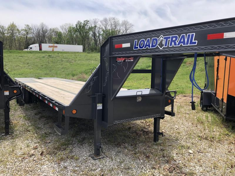 2020 Load Trail Hydraulic Dove Tail Equipment Trailer