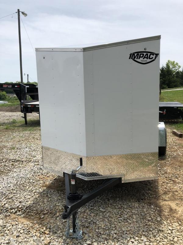 2021 Impact Trailers 6X12 IMPACT Enclosed Cargo Trailer