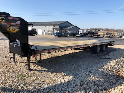 2021 Doolittle Trailer Mfg 102X32 DOOLITTLE BRUTE FORCE Equipment Trailer