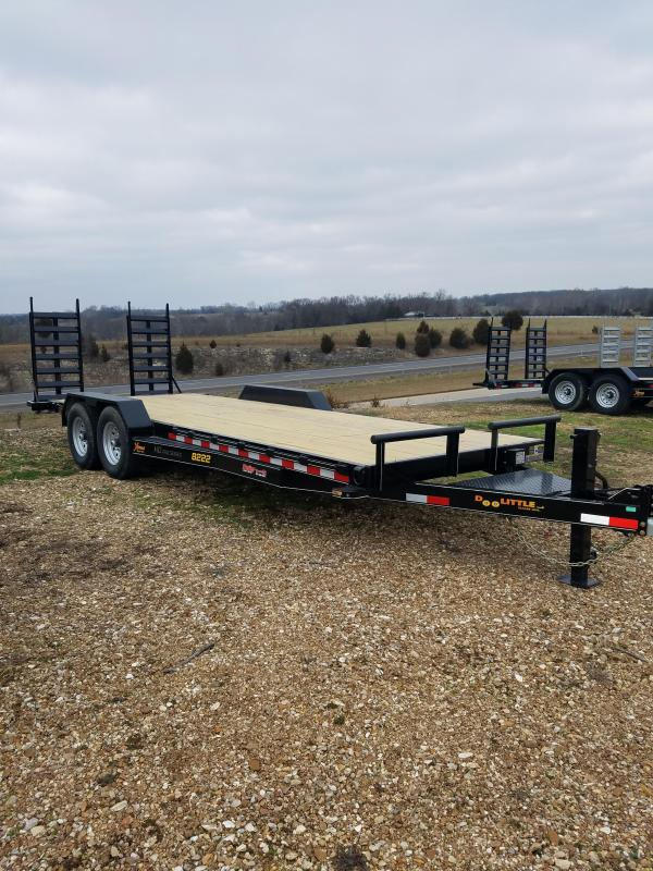 2021 Doolittle Trailer Mfg 82X22 DOOLITTLE XTREME Flatbed Trailer