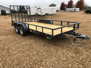 2021 Doolittle Trailer Mfg 77X16 DOOLITTLE Utility Trailer