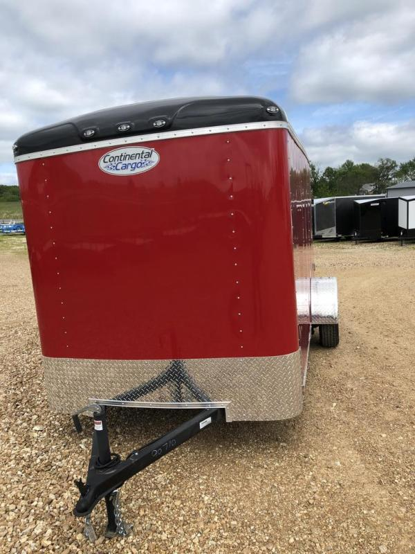2020 Continental Cargo 6X12 CONTINENTAL CARGO Enclosed Cargo Trailer