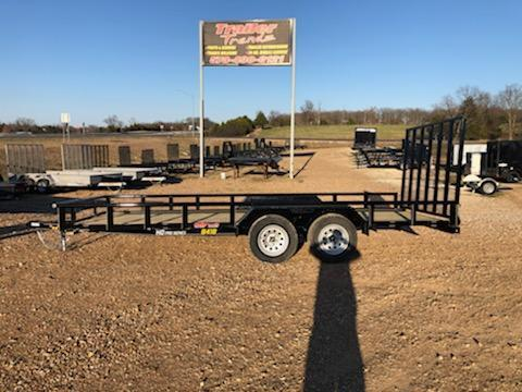 2021 Doolittle Trailer Mfg 84X18 DOOLITTLE Utility Trailer