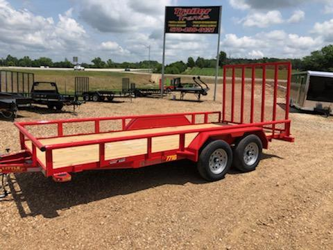 2020 Doolittle Trailer Mfg 77X16 DOOLITTLE Utility Trailer