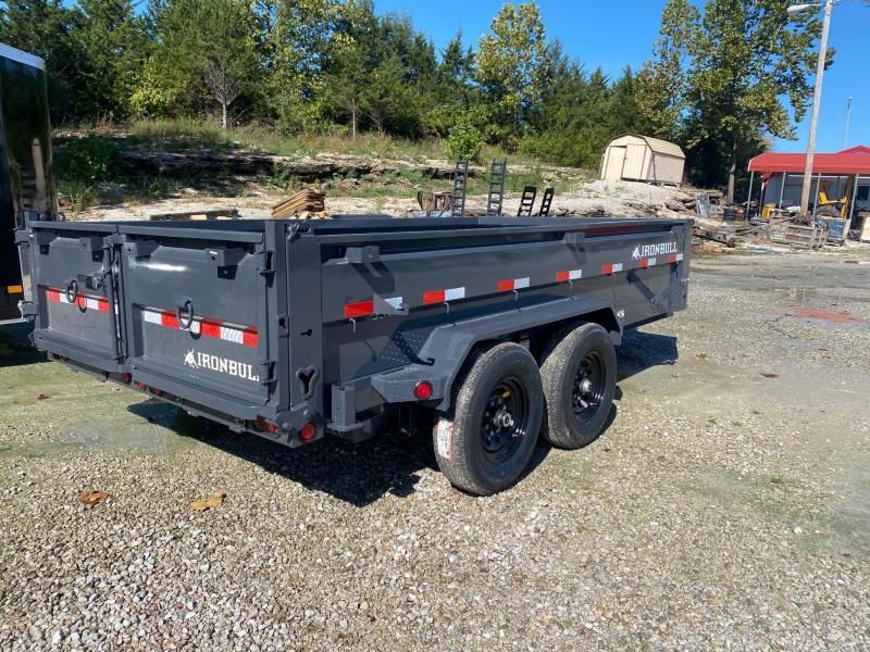 2022 Iron Bull 83X14 14K GVWR DWB Dump Trailer