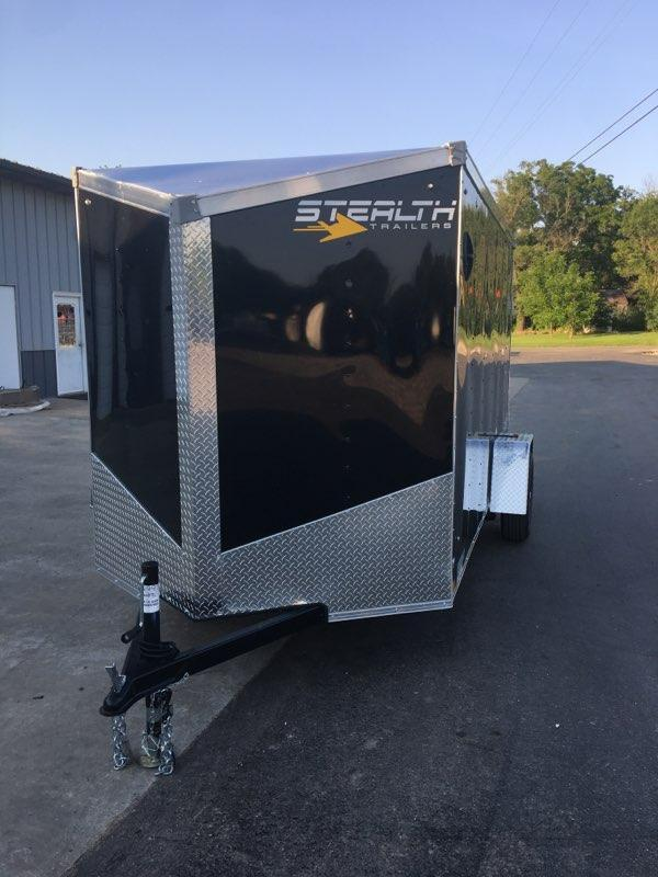 2021 Stealth Trailers 6X12 STEALTH Enclosed Cargo Trailer