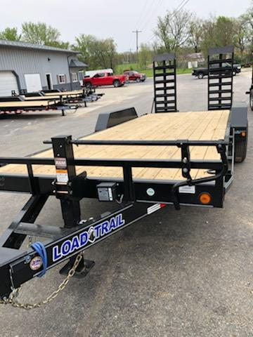 2021 Load Trail 83X20 LOAD TRAIL CARHAULER Flatbed Trailer