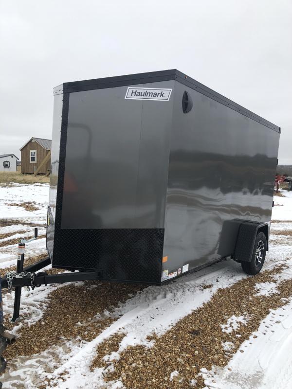 2020 Haulmark 6X12 HAULMARK Enclosed Cargo Trailer