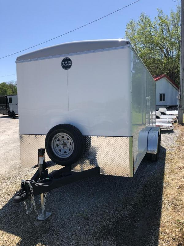 2020 Wells Cargo 7X16 WELLS CARGO Enclosed Cargo Trailer