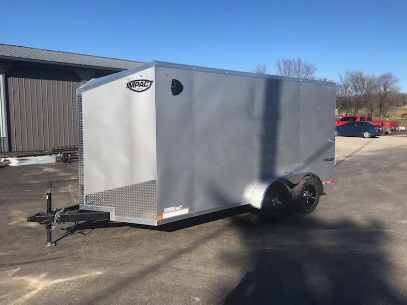 2021 Impact Trailers 7X14 IMPACT TREMOR Enclosed Cargo Trailer