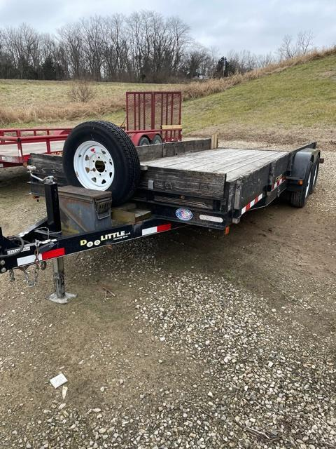 2012 Doolittle Trailer Mfg 84x20 Carhauler Flatbed Trailer