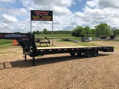 2021 Load Trail 102X28 LOAD TRAIL DECKOVER Equipment Trailer