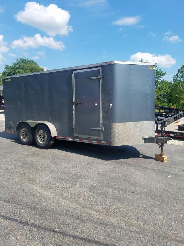 2014 Doolittle Trailer Mfg 7X16 DOOLITTLE Enclosed Cargo Trailer