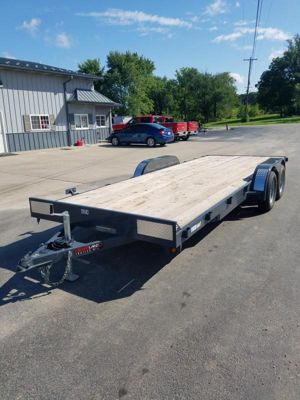2020 Heartland 82X20 Flatbed Trailer